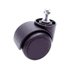polyamide-zwenkwielen-zwart